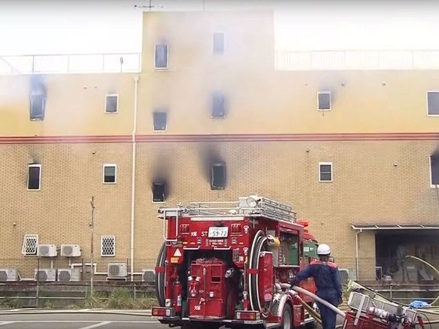 At least 33 people are dead after an arson attack on Kyoto Animation studio