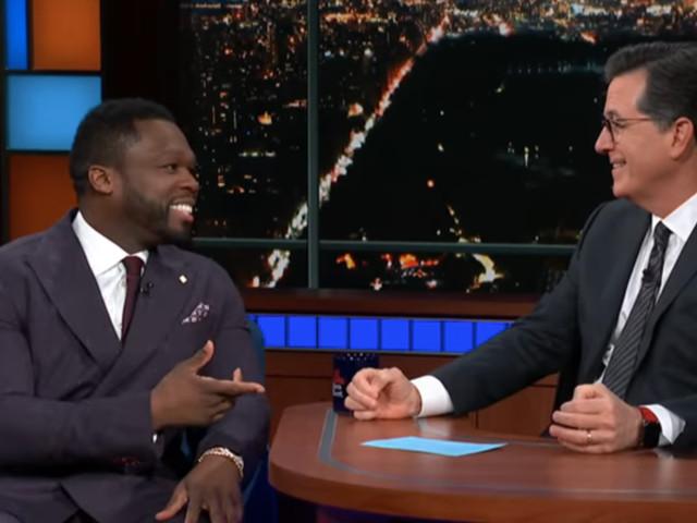 50 Cent beefs with Stephen Colbert over Helen Mirren, explains his discount beef with Ja Rule