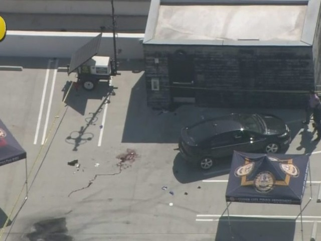 Culver City Police Kill Allegedly Armed Man At Parking Garage; Officer Struck By Friendly Fire