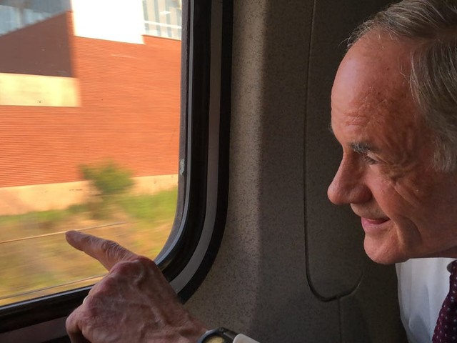 What we learned about Joe Biden from riding Amtrak with a Senate colleague who has known the president for five decades