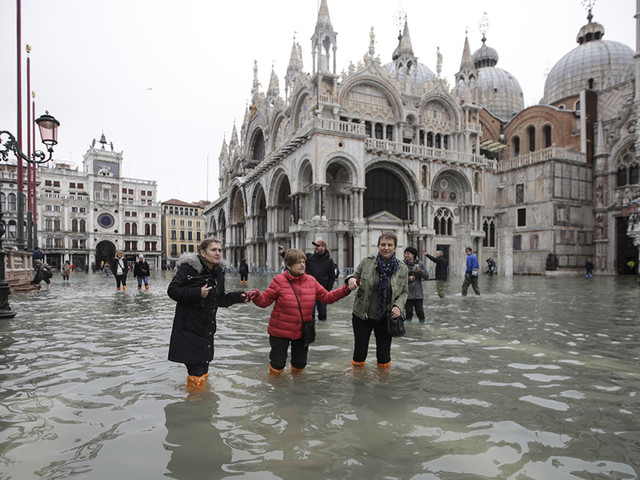 Venice Flooding: Italy set to declare state of emergency in city