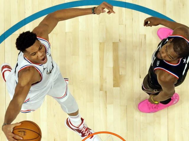 Is Giannis Antetokounmpo the next LeBron James yet?
