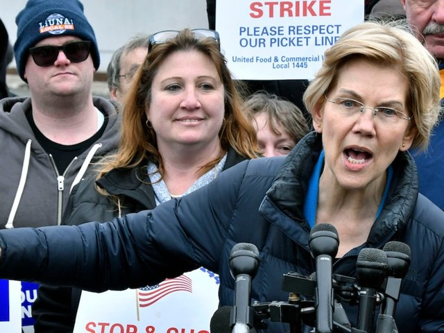 Elizabeth Warren says she wants an America where the family accused of deceptively marketing opioids likeOxyContin 'don't get museum wings named after them, they go to jail'