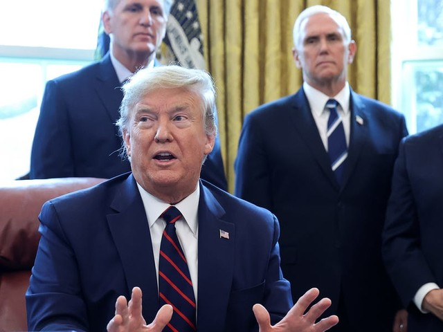 Trump says he is considering imposing a quarantine on New York, New Jersey, and Connecticut