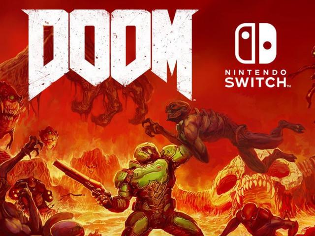 Doom Nintendo Switch release date announced