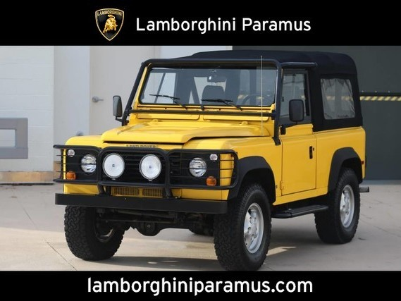 1997 Land-Rover Defender--90