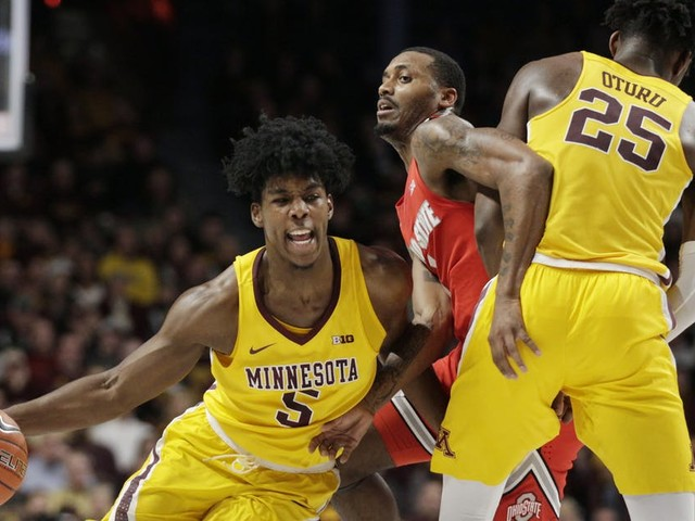 Gophers get Williams Arena rocking with blowout victory over No. 3 Ohio State