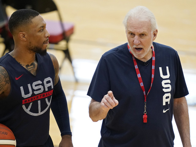 Among NBA's best, Popovich still seeks golden touch with USA