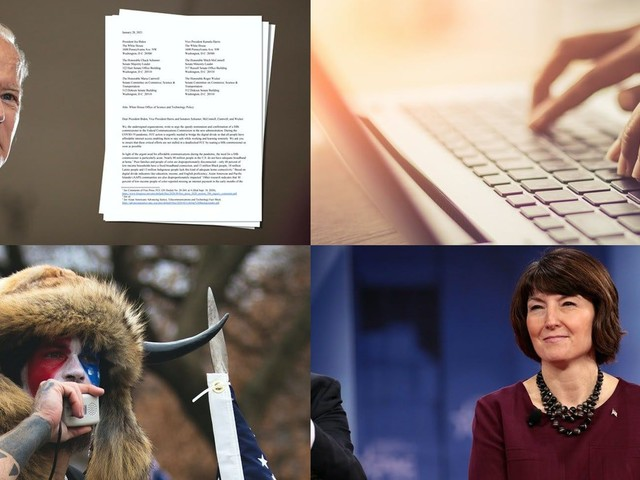 Tech Tuesday newsletter: Pressure mounts for Biden to act on tech, Q Shaman to testify