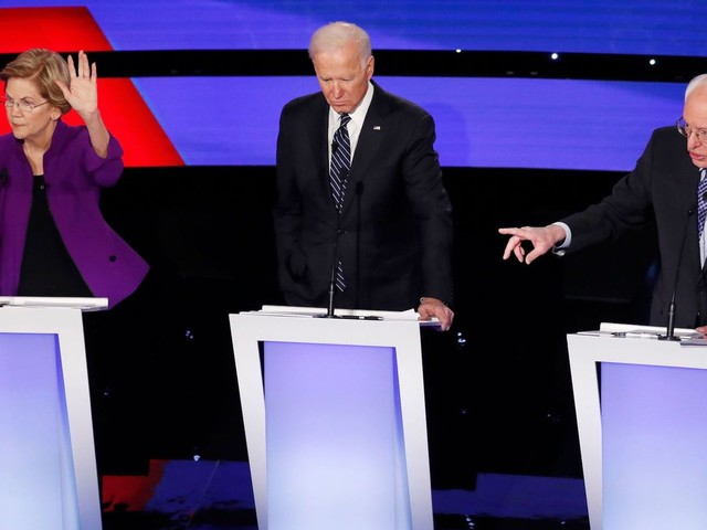 The top 10 Democratic presidential candidates, ranked and tiered