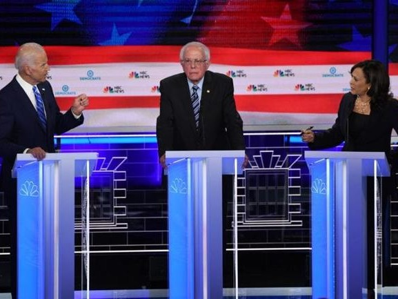 """2020 Race Is Over"" Post-Mortem Of Second Dem Debate: Kamala Crushes Bernie & Biden"