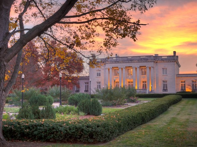 Grand staircases, state-shaped pools, and a bowling alley in the basement: Here's what the governor's mansion looks like in every state