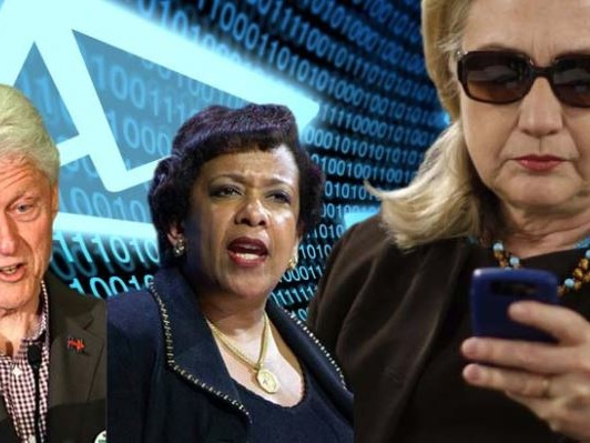 """""""The Cover-Up Begins To End"""": Judicial Watch Hints At Explosive New Clinton-Lynch Tarmac Docs"""