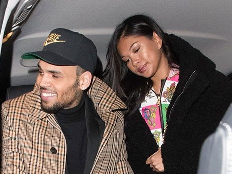Chris Brown & GF Ammika Harris Reportedly Expecting 1st Baby Together – A Boy