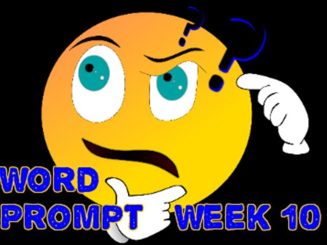 Word Prompts Help Creativity / Week 10
