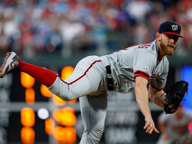 Nationals hope to make up ground in four-game series against the Braves