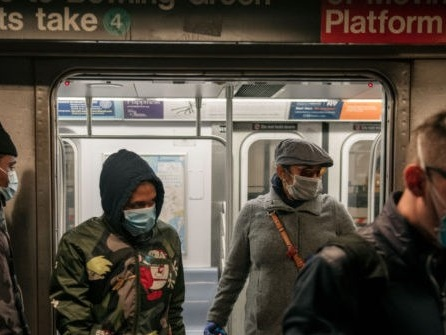 New York City's Transportation Authority to Fine Maskless Riders $50