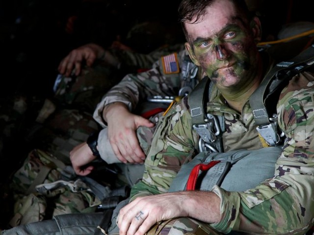 Paratrooper exercise is all about preparation - and the jump