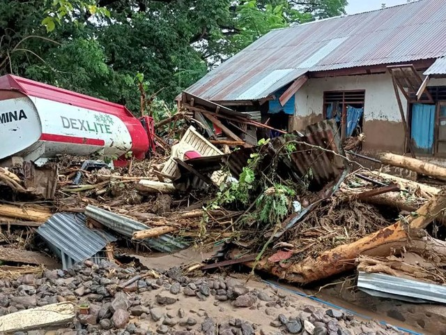 Floods, landslides, kill dozens in Indonesia and East Timor