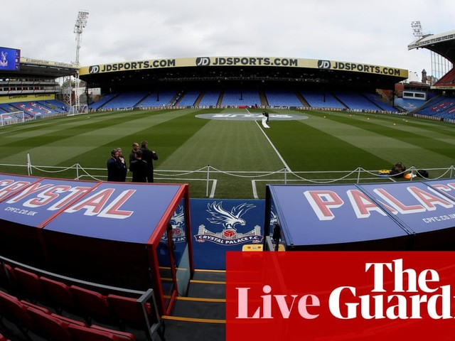 Crystal Palace v Arsenal: Premier League – live!