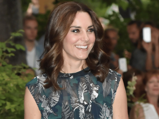 Kate Middleton Makes Her First Appearance Since Announcing Her Pregnancy