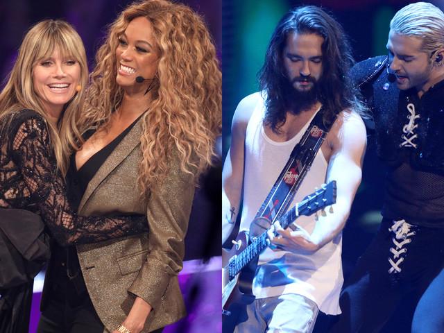 Heidi Klum Joined By Tyra Banks & Fiance Tom Kaulitz at 'Germany's Next Top Model' Live Final!