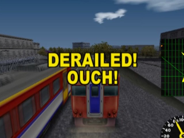 Trains Crash Through Empty Worlds In My New Favorite Racing Game