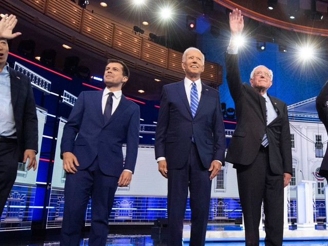 Here's where the 2020 Democratic presidential candidates agree and disagree on healthcare, climate change, higher education and more