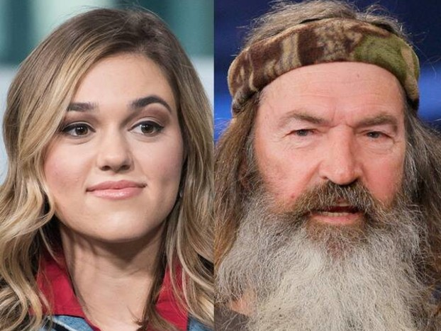 Duck Dynasty's Sadie Robertson Reacts to News of Grandpa's Daughter From Past Affair