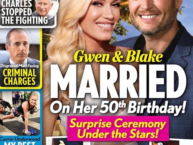 Gwen Stefani, Blake Shelton Got Married On Her 50th Birthday?