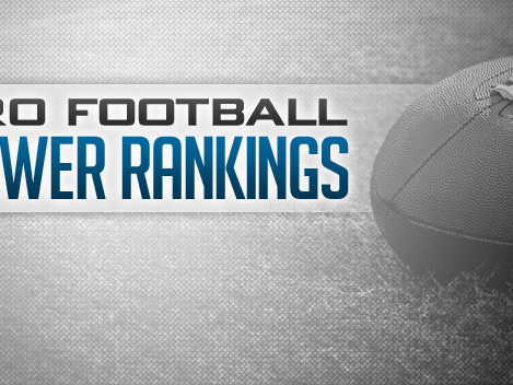 Latest NFL Power Rankings