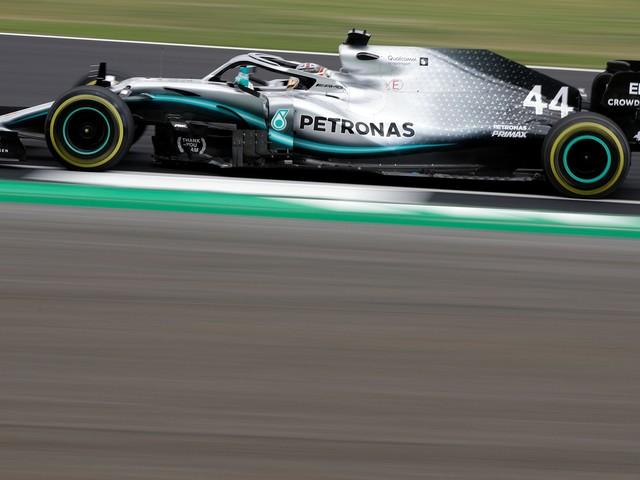 Mercedes 1-2 in British GP practice, Bottas edges Hamilton