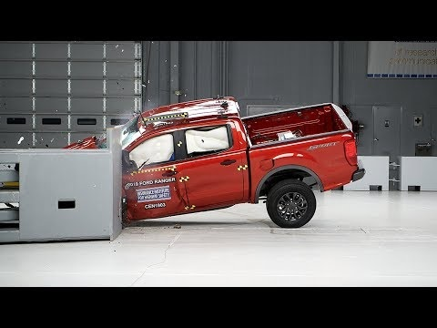 2019 Ford Ranger Crash Tests Well, but Misses a Top Award