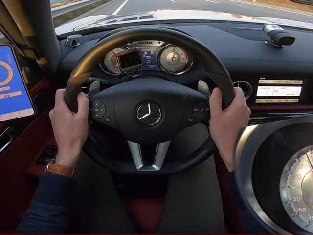 Watch A 1025 HP Mercedes-Benz SLS AMG Roam The Autobahn