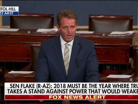 Steve Hilton Rips 'Pompous' Jeff Flake: 'Everything People Hate About Politics'