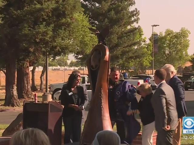 New Memorial Unveiled For Fallen Deputy Mark Stasyuk In Rancho Cordova