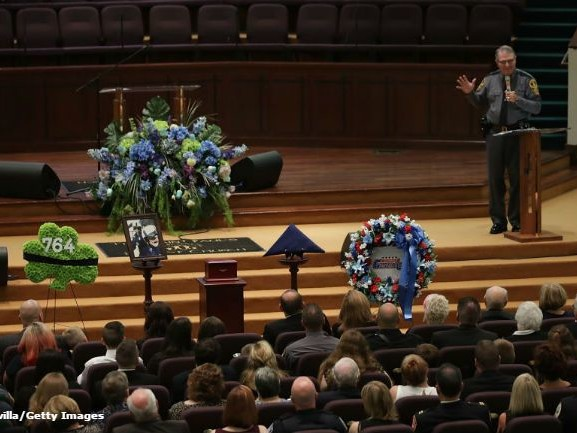 Funeral held for Virginia trooper killed in helicopter crash