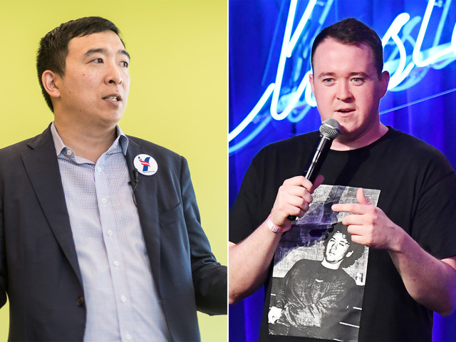 Andrew Yang 'forgives' new 'SNL' comic Shane Gillis for 'Jew ch–k' slur