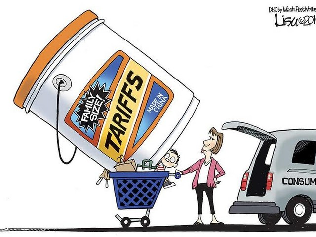 Editorial cartoon got it right: Americans pay when tariffs are imposed