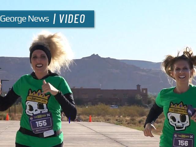 'Boo Dash' 5k scares up family fun at annual fall festival