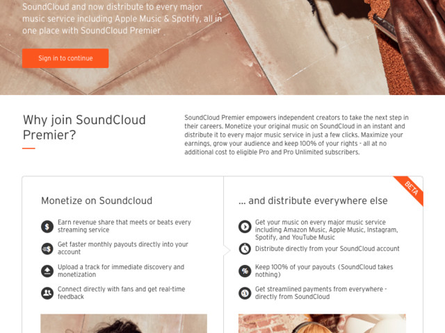 SoundCloud will now handle distributing your music – and give you a 100% cut