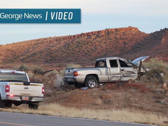 Mesquite man killed in crash on Old Highway 91