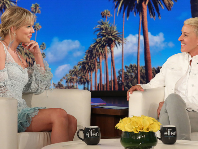 Taylor Swift on 'Ellen' - Watch Her First Talk Show Appearance in Two Years!