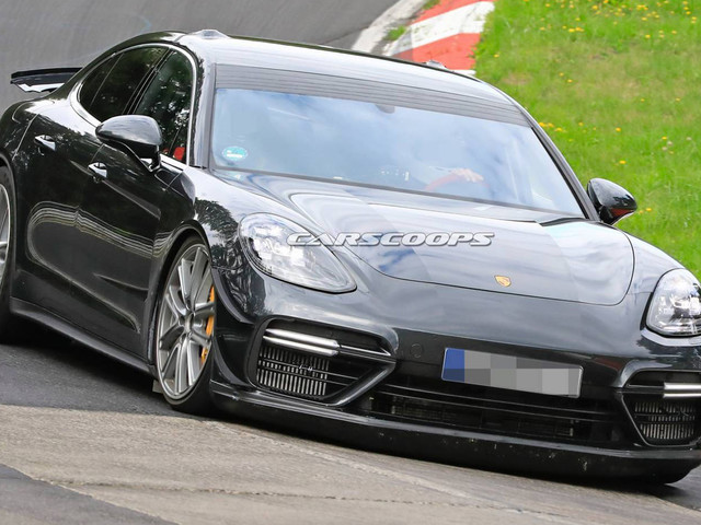 Porsche Panamera 'Lion' Might Have Posted A 7:11 Lap At The 'Ring