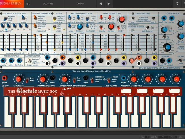 Arturia add CMI, DX7, Clavinet – and Buchla Easel – in software