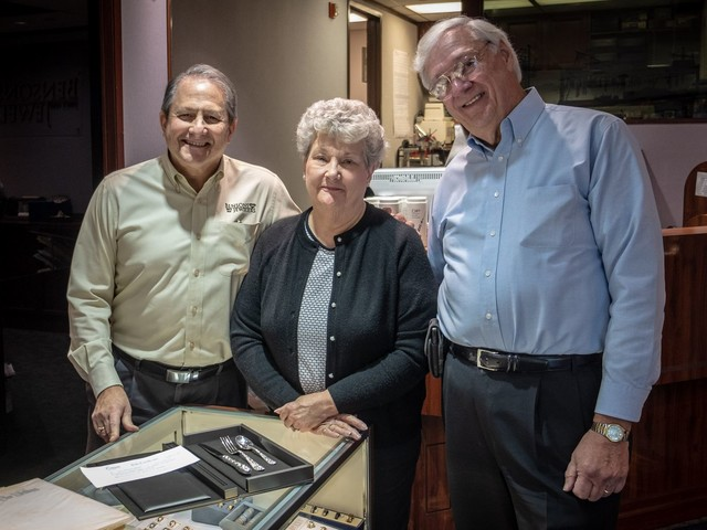 Stick a fork in them: 50 years after their wedding, this couple gets its last gift