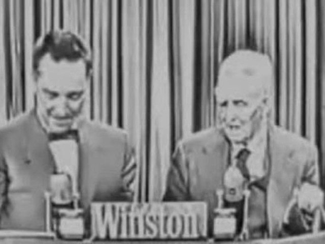 "The Last Surviving Witness of the Lincoln Assassination Appears on the TV Game Show ""I've Got a Secret"" (1956)"