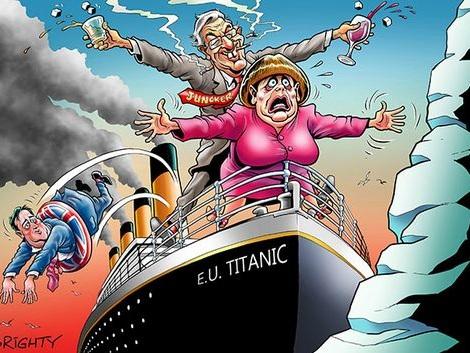 The Gently Rotting Debt-Ridden EU