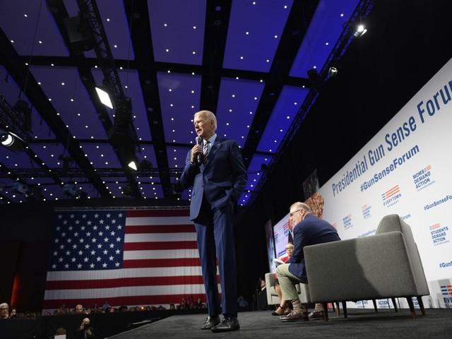 At gun forum, Joe Biden tells audience how to talk to kids about gun violence at the 'kitchen table'