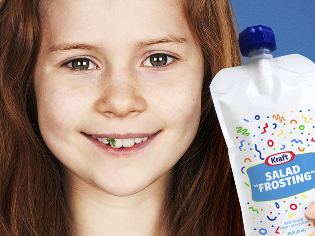 Kraft wants to trick kids into eating veggies by calling salad dressing 'frosting'